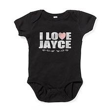 I love Jayce Baby Bodysuit