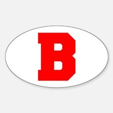 B-Fre red Decal