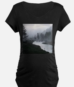 Bison Crossing Maternity T-Shirt