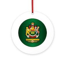 Saskatchewan COA Ornament (Round)