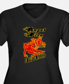 ANGEL FIRE LOVE Plus Size T-Shirt