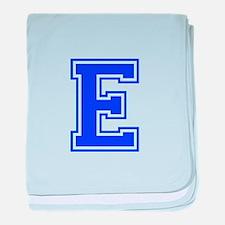 E-Var blue baby blanket