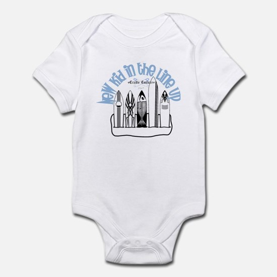 New Kid in the Line Up Infant Bodysuit