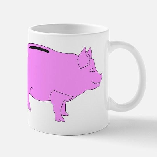 Piggy Bank Mugs