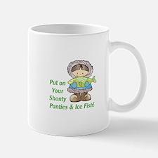 Put On Your Ice Fish! Mugs