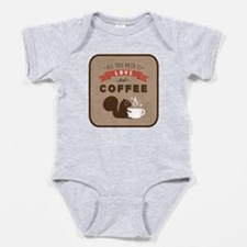 All You Need is Love and Coffee Baby Bodysuit