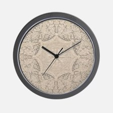 Unique Lace Wall Clock