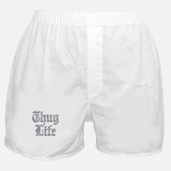 Diamond Bling THUG LIFE Boxer Shorts