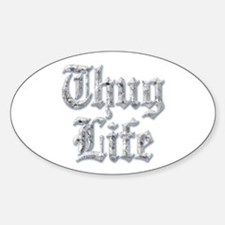 Diamond Bling THUG LIFE Bumper Stickers