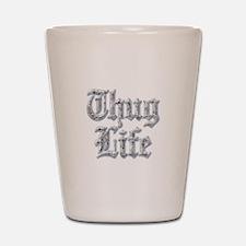 Diamond Bling THUG LIFE Shot Glass