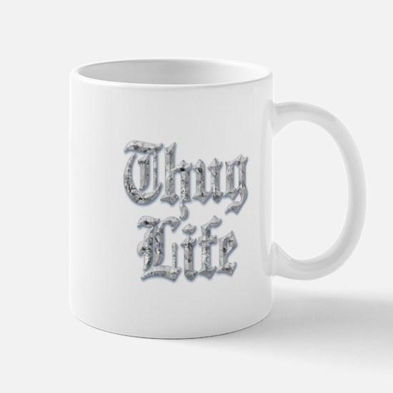 Diamond Bling THUG LIFE Mugs