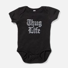 Diamond Bling THUG LIFE Baby Bodysuit