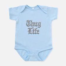 Diamond Bling THUG LIFE Body Suit