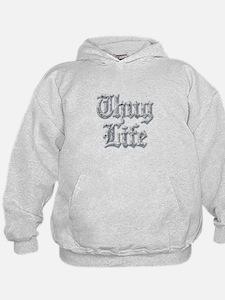 Diamond Bling THUG LIFE Hoodie