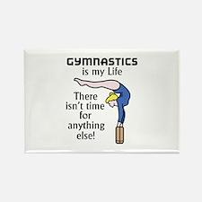 Gymnastics Is My Life Magnets