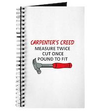 Carpenter's Creed Journal