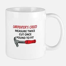 Carpenter's Creed Mugs