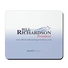 """Bill Richardson 2008"" Mousepad"