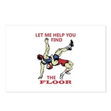 Let Me Help You Postcards (Package of 8)