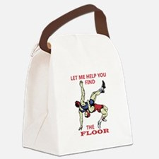 Let Me Help You Canvas Lunch Bag