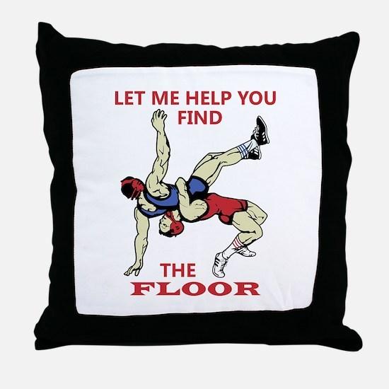 Let Me Help You Throw Pillow