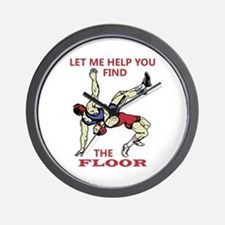 Let Me Help You Wall Clock