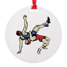 WRESTLERS Ornament