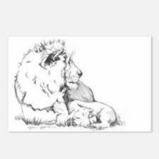 The Lion & the Lamb Postcards (Package of 8)