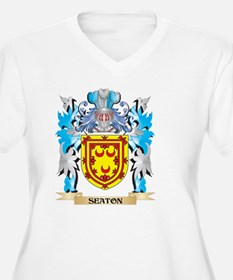 Seaton Coat of Arms - Family Cre Plus Size T-Shirt