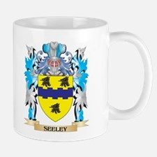 Seeley Coat of Arms - Family Crest Mugs