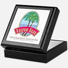 Hilton Head Palms - Keepsake Box