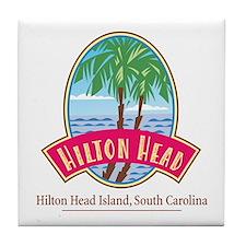 Hilton Head Palms - Tile Coaster
