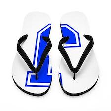 J-Var blue Flip Flops