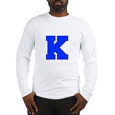 K-Fre blue Long Sleeve T-Shirt
