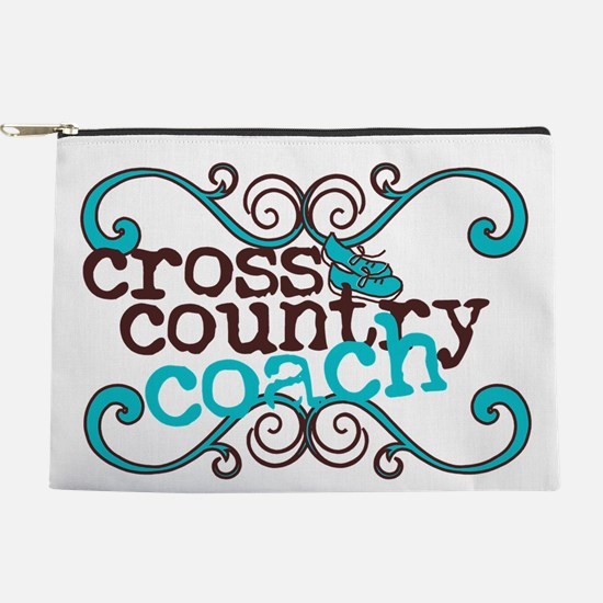 Cross Country Coach Makeup Pouch