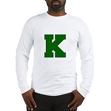 K-Fre d green Long Sleeve T-Shirt