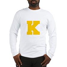 K-Fre gold Long Sleeve T-Shirt