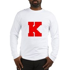 K-Fre red Long Sleeve T-Shirt