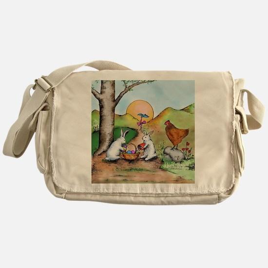 Cute Holiday Messenger Bag