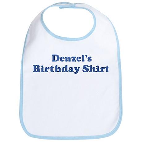 Denzel birthday shirt Bib