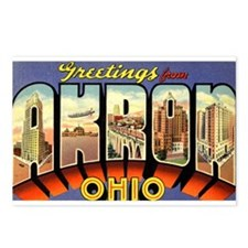 Greetings from Akron Postcards (Package of 8)