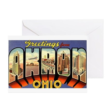 Greetings from Akron Greeting Cards (Pk of 10)