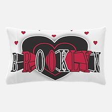 Brooklyn Heart Pillow Case
