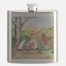 Cute Easter Flask