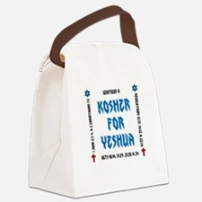 Kosher for Yeshua Canvas Lunch Bag