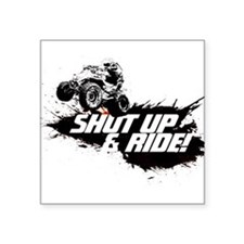 "Cool Quad biking Square Sticker 3"" x 3"""