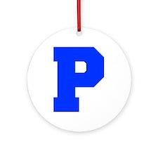 P-Fre blue Ornament (Round)