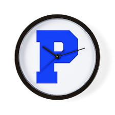 P-Fre blue Wall Clock