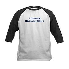 Clifford birthday shirt Tee