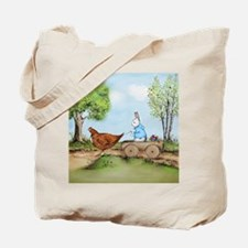 Easter Bunny on the Road Tote Bag